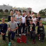 """Alojiešiem 1.vieta Latvijas čempionātā ugunsdzēsības sportā """"Brašais ugunsdzēsējs"""" Jelgavā"""