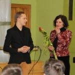 Ar Alojas novada skolēniem tikās Saeimas deputāte Dana Reizniece-Ozola