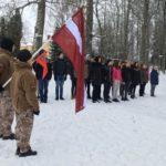 Barikāžu atceres dienas atzīmēšana Alojas Ausekļa vidusskolā