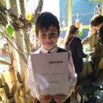 Vidzemes zonas matemātikas olimpiādē alojietim 3.vieta