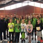 Alojieši no starpnovadu skolu sacensībām vieglatlētikā pārved 18 medaļas