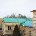 Būvdarbi Alojas Ausekļa vidusskolā lēnām tuvojas finišam