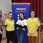 """""""Esi Līderis!"""" jaunieši gūst pieredzi konkursā Valmieras tehnikumā"""