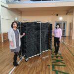 Turpinās ziedojumu akcija saliekamo krēslu iegādei Alojas Ausekļa vidusskolai